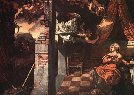 Tintoretto Annunciation